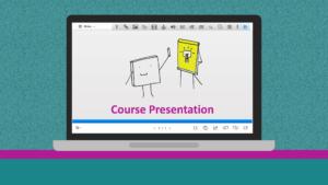 Einer interaktive Präsentation mit H5P erstellen